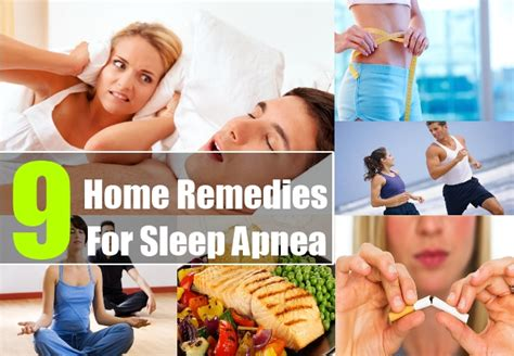 home remedies for sleep apnea treatments cure