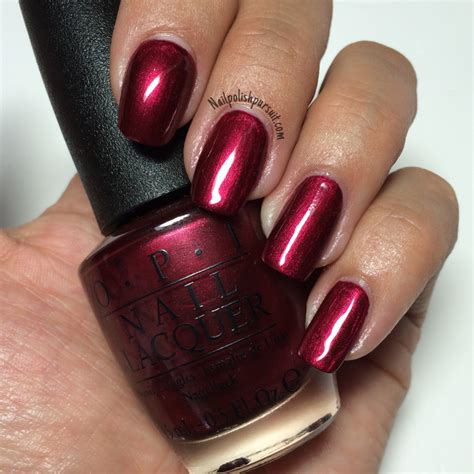 Blackberry Manicure classics bogot 225 blackberry by opi nail pursuit