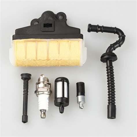 Air Fuel Filter Line Spark Plug Kit For Stihl Chainsaw 021