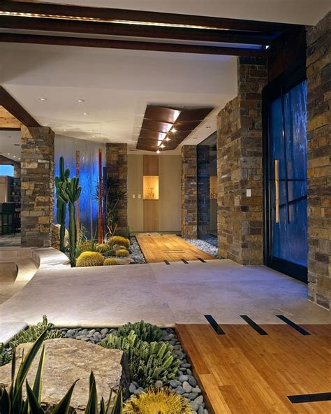 indoor courtyard indoor garden ideas