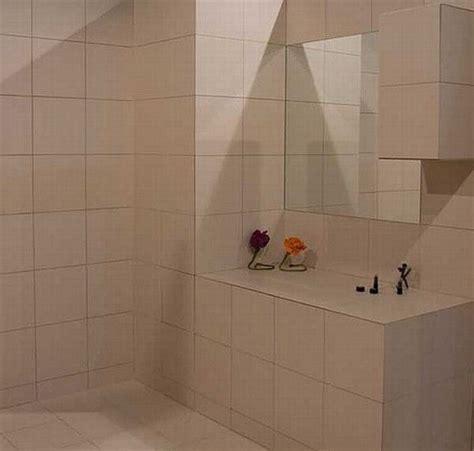 ingenious hidden shelves  ceramic tiles freshome