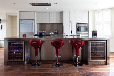 kitchen bar stool ideas modern red kitchen bar counter stool designs trends4us com