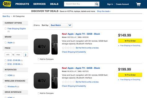 apple tv box best buy best buy begins offering in store of new apple tv
