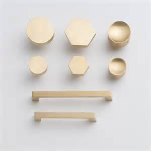 hex knob brass hexagons kitchen hardware and