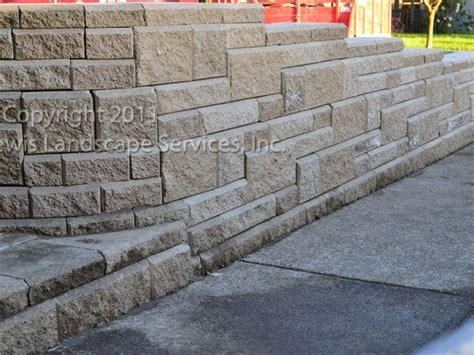 lewis landscape services retaining walls portland oregon