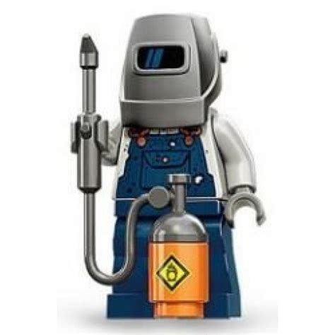 figure parts buy lego welder minifigure series 11 the daily brick