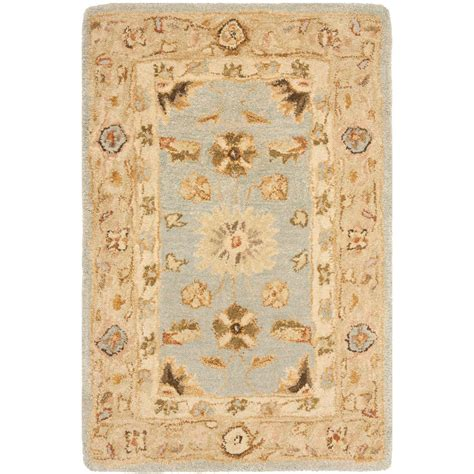 2 x 3 area rugs safavieh anatolia light blue 2 ft x 3 ft area rug an556b 2 the home depot