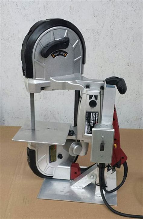 portable metal bandsaw stand farrier band saw