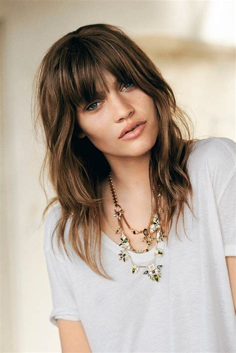 70 shag how to cut shag haircuts are big right now would you cut bangs to