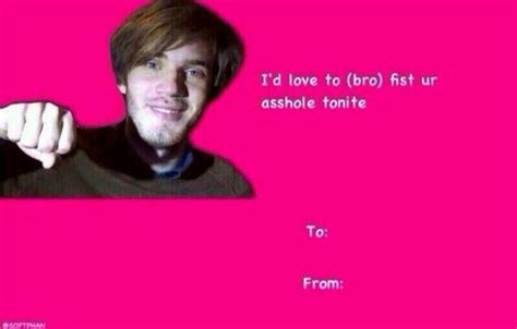 Valentines Day Meme Card - pewdiepie brofist valentine s day e cards know your meme
