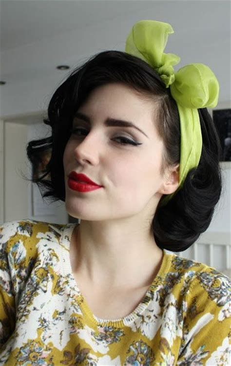 1940s bandana hairstyles the best 30 pin up hairstyles for glamorous retro girls