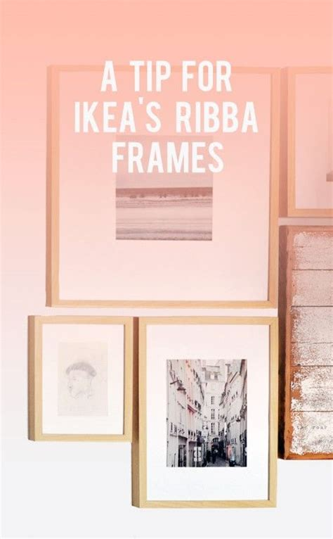 ribba frame 9x9 quot ikea we have these frames all over the house good tip for