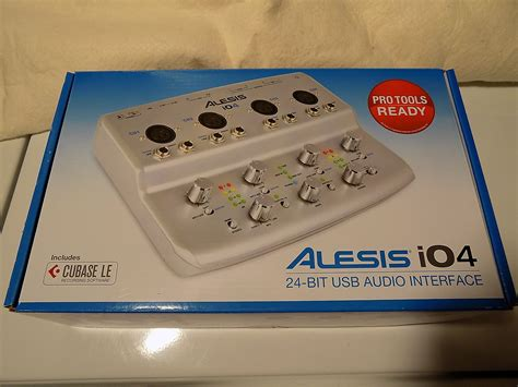 alesis io4 review alesis io4 4 channel 24 bit recording interface reverb