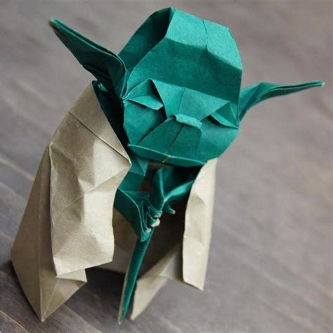 All Origami Yoda - fancy origami yoda