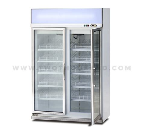 Glass Door Section 1480mm Two Section Glass Door Reach In Refrigerator Tt Bc391b