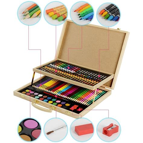 Drawing Set by Hysung Set For 108 For Sketching And