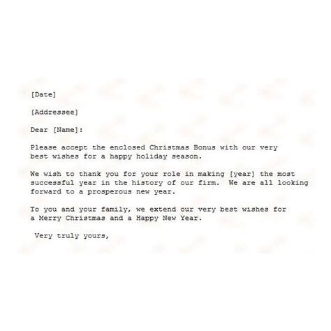 Guide To Finding A Free Christmas Letter Template Merry Business Letter Template