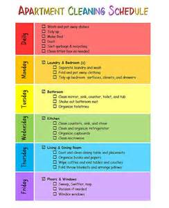 Apartment Cleaning My Apartment Cleaning Schedule For The Home