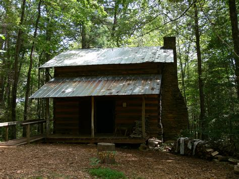 Creepy Cabin In The Woods by Cabin On