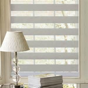 Blinds com horizontal shading flat sheer shading whites