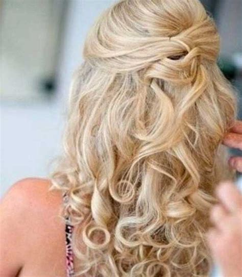 hairstyles curly half up 30 best half up curly hairstyles hairstyles haircuts