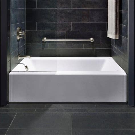 Modern Bathroom Without Tub 4 Foot Bathtub Small Freestanding Soaking Tub Esperia