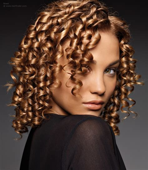african american spiral curl hairstyles african hair in a bob shape with spiral curls