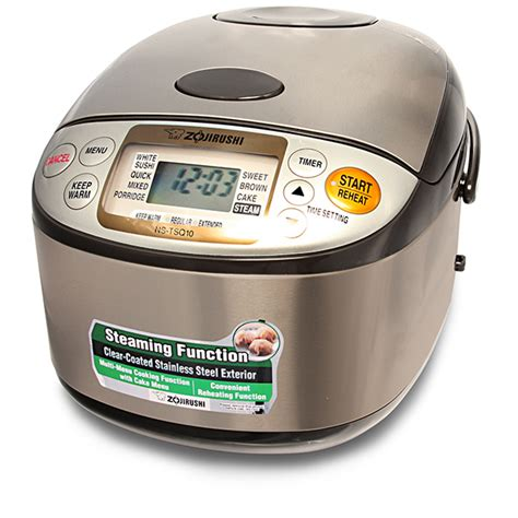 Jual Zojirushi Rice Cooker by Zojirushi Ns Tsq10 Micom Fuzzy Logic Rice Cooker