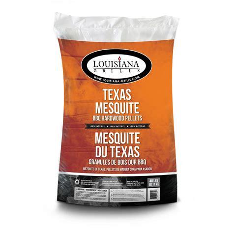 louisiana grills 40 lb mesquite hardwood pellets