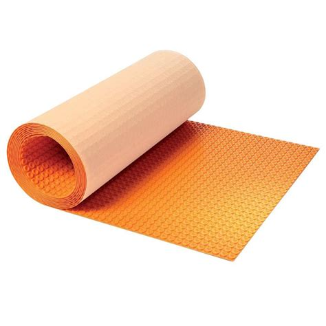 heat l home depot schluter ditra heat 3 ft 3 in x 41 ft 1 in uncoupling