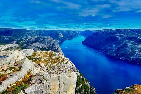 fjord water norway fjord river 183 free photo on pixabay