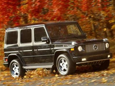 2003 mercedes g class models trims information and