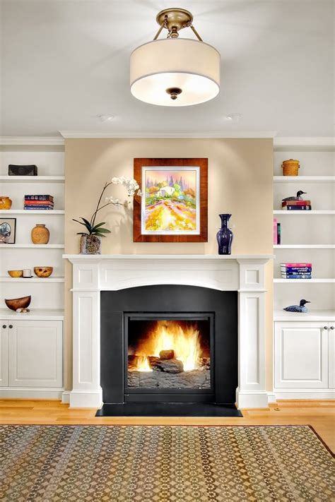Fireplace Hearth Edging by Wood Trim For Fireplaces Fireplaces