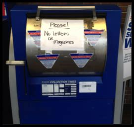 Post Office Drop Box Locations by United States Postal Office Package Drop Box Bme 290a