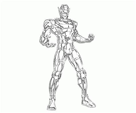 marvel coloring pages age of ultron ultron coloring pages coloring home