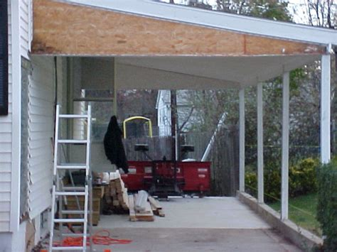 Closing In A Carport How To Convert A Carport Into A Garage