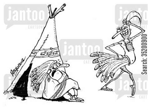 cartoons on native americans of central and south america american indian cartoons humor from jantoo cartoons