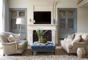 Built In Bookcases Atlanta Traditional Living Room Ideas And Photos