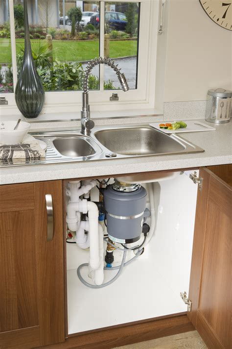 Kitchen Sink With Garbage Disposal Food Waste Disposer Event Low And Behold