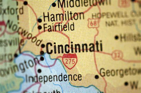 Free Detox Columbus Ohio by Map Of Cincinnati Ohio Stock Images Image 5033954