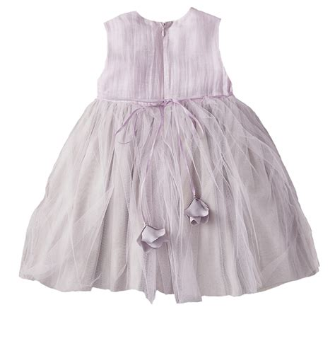 Handmade Flower Dresses - a line dress with handmade flower nellystella sale