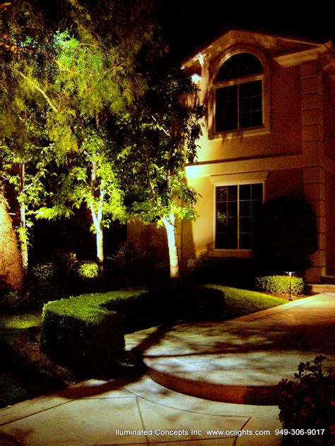 landscape led lighting led landscape lighting design install in orange county