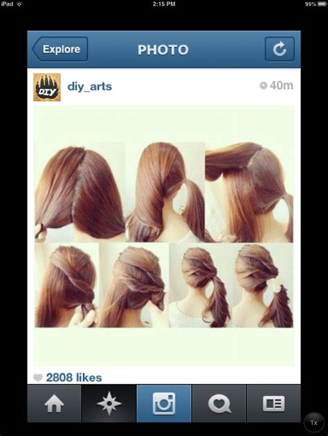 hair tutorial videos instagram hair tutorial from instagram hair pinterest