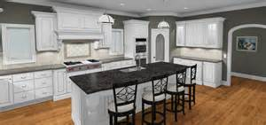 White Grey Kitchen by White Amp Gray Kitchen Bob Haase Design