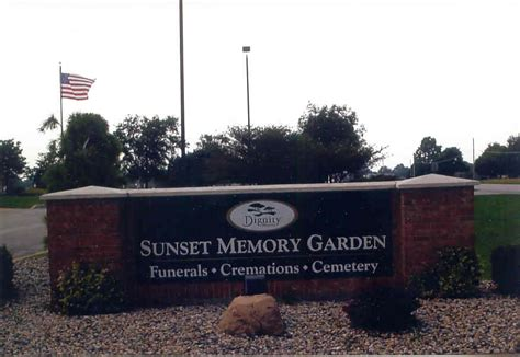Sunset Memory Gardens by Find A Grave Sunset Memory Garden