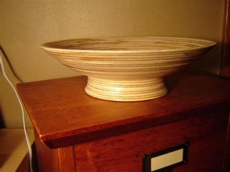 plywood bowl woodworking talk woodworkers forum