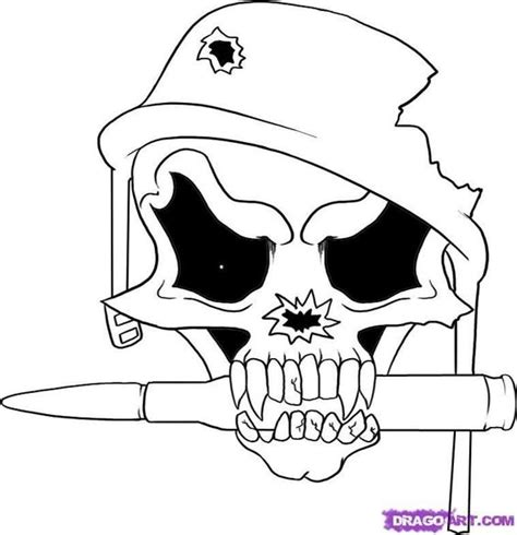 christmas soldier steps to drawyard sign easy drawings step by step scull how to draw a soldier skull step by step skulls pop culture