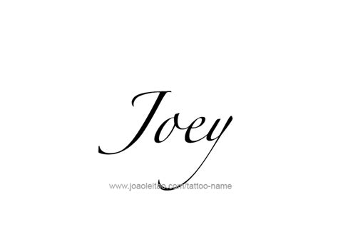 joey tattoo designs joey name designs