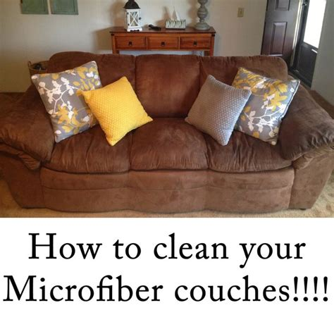 Cleaning Microfiber Sofa by How To Clean Microfiber Couches Improve Your Home Decor