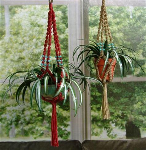 Macrame Patterns For Hanging Plants - best 25 macrame plant hanger patterns ideas on